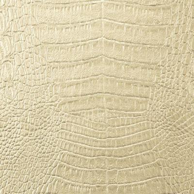 Ecopelle coccodrillo beige L7